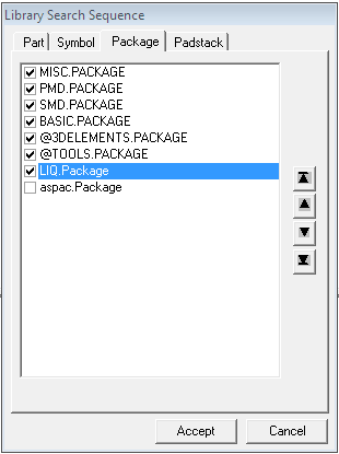 Library Search Sequence