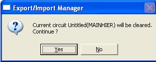 Export Import Manager