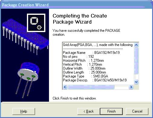 Package creation Wizard