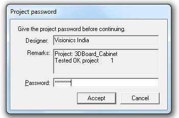project password