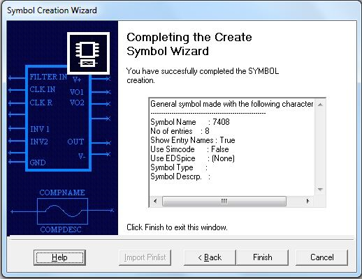 Symbol Creation Wizard