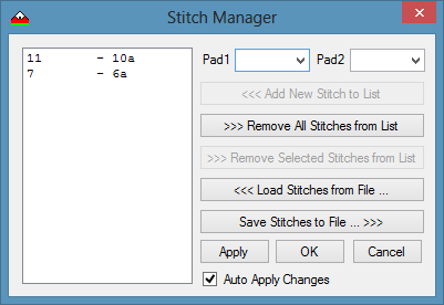 Stitch Manager