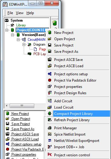 Compact Project Library