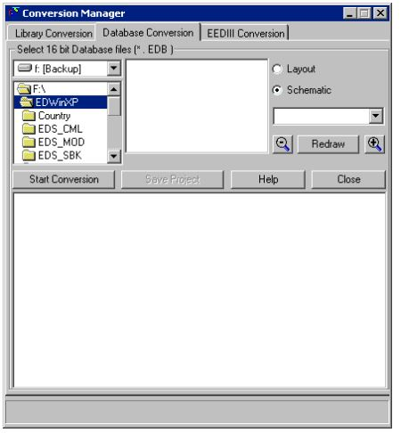 Conversion Manager